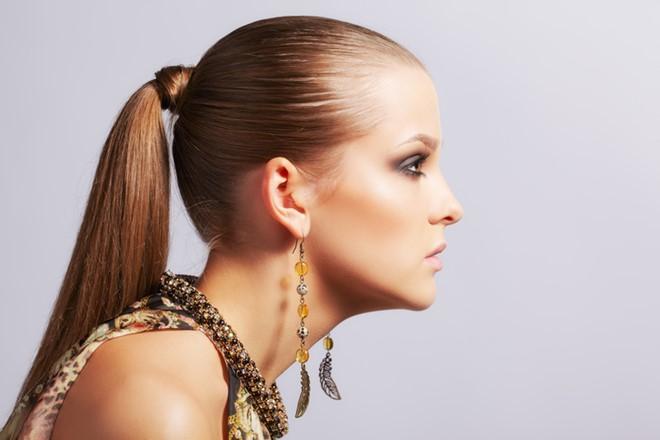 tóc thắt chặt hình 3