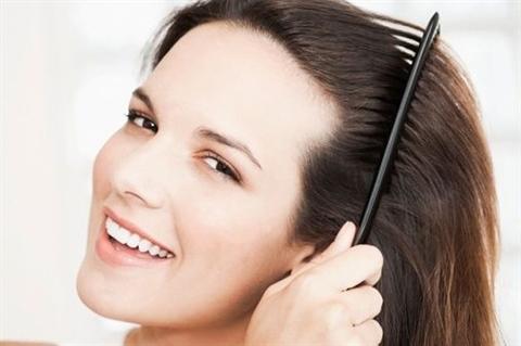 trị rụng tóc với rau dền đỏ hình 4