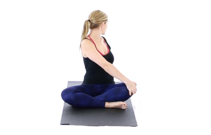 chữa mấy ngủ với yoga